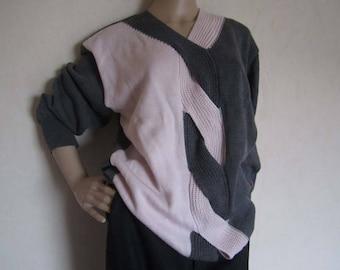 Vintage wool sweater wool bode oversized