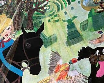 Art Print: Lady Buckbean