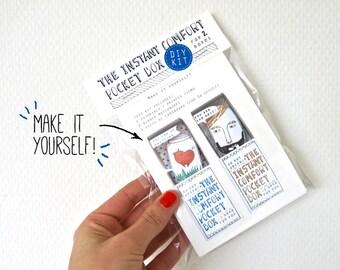DIY kit - blauw: voor 2 Instant Comfort Pocket dozen