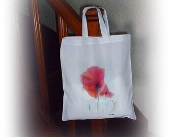 Tote bag coquelicot de Céline Photos Art Nature