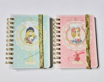 Set of 2 - The Rose of Versailles Oscar and Marie Antoinette mini memo pads