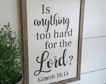 Scripture Quote Sign, Bible Verse Sign, Scripture Sign, Inspirational Sign, Rustic Wood Sign, Motivational Sign, Nursery Sign, Gallery Wall