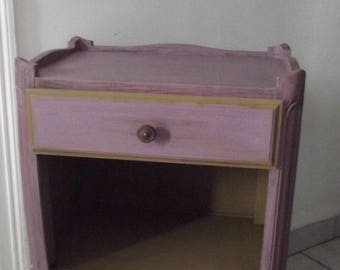 BEDSIDE or table D extra Pink Purple patina