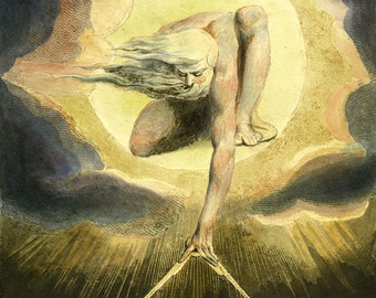 "William Blake : ""The Ancient of Days"" (1794) - Giclee Fine Art Print"