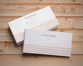 Custom business card, Personalized busieness card, Premade business card, Business card template, Printable business card, Digital card