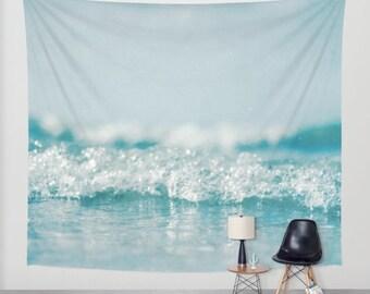 Ocean tapestry, wall hanging, sea tapestry, zen, nautical, dreamy, bohemian, beach, coastal, three sizes