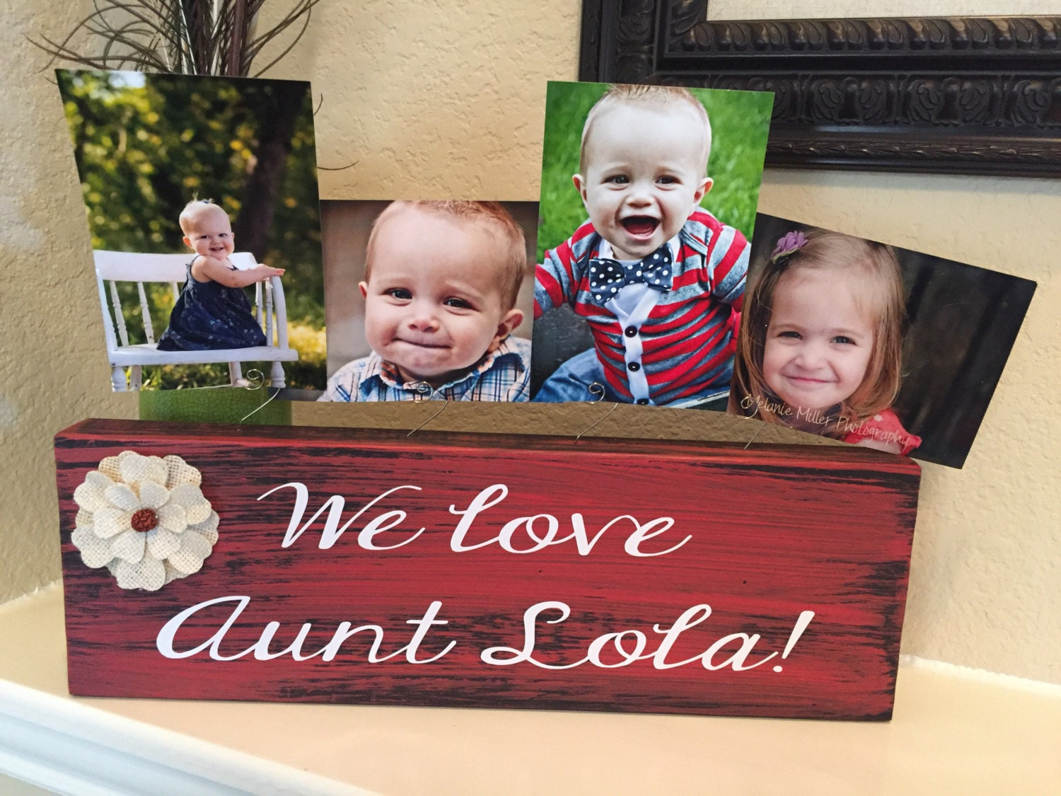 Gift For Aunt Sister From Nieces Nephews Personalized Picture Frame