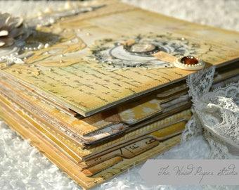 Made to order Engagement/ Wedding/  Bride Bridal Shower  Scrapbook Album
