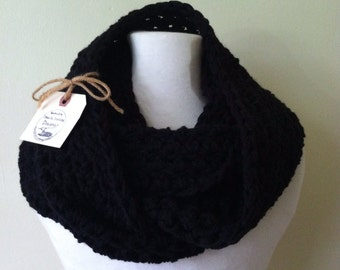 The Simple Series: The Black Infinity Scarf