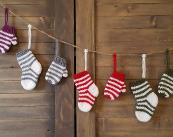 12 mittens and stockings