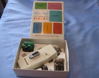 SINGER Professional  Buttonholer Vintage  Sewing Machine For Slant Needle Zig-Zag Sewing Machines Part No. 507661