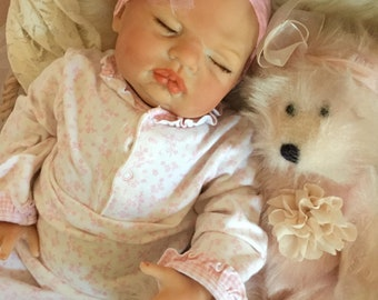 From The Sugar Kit Reborn Baby Doll Kayla 20 inch kit Completed Doll