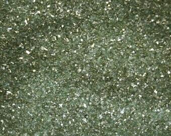 German Glass Glitter - Light Green