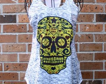 Ladies Softball Tank Top, Softball Tee, Softball Shirt Women, Softball Mom Shirt, Softball Gift, Softball Tshirt, Multiple Shirt Styles