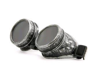 Jetstar Goggles (Antique Silver)