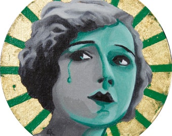 Mary Pickford (Silent Icon) - Original Painting