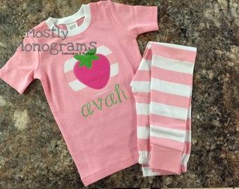 Personalized PJ's, Personalized Pajamas, Monogrammed PJs