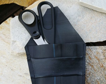 Scissor pocket, Scissor case made of bicycle tube