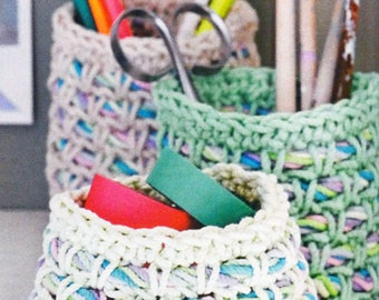 Tutorial crochet Organizer