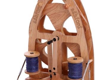 Joy Ashford Spinning Wheel 2 and Carry Bag set - Double Treadle