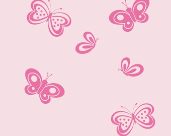 Girls Room Wall Decals