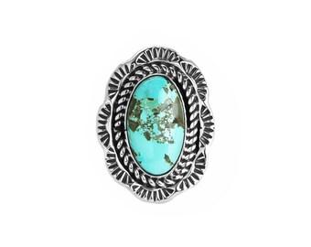 Kingman Turquoise Statement Ring