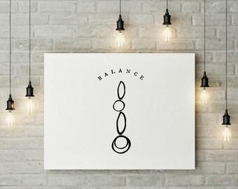 Balance - Art Printable