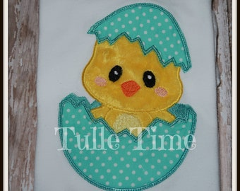 Easter Chick embroidered bodysuit creeper shirt All sizes Personlized