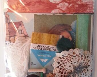 Mystery Kit! Ephemera Journaling