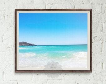 Ocean print, beach print, Ocean Water Print, Coastal Wall Art, Wall Art, Coastal, Printable Art, beach art print, vacation art, water art