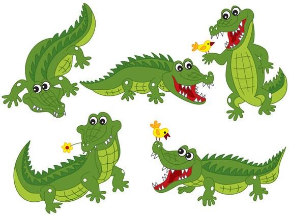 crocodile clipart digital vector crocodile africa safari rh etsystudio com crocodile clipart black and white crocodile clipart image