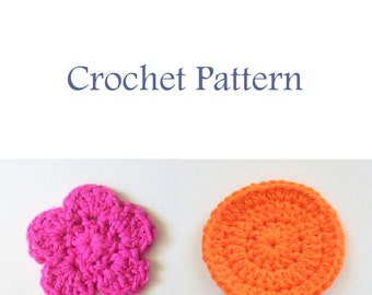 Scrubbies Crochet Pattern, Instant Download, PDF Crochet Pattern, Easy Crochet Pattern