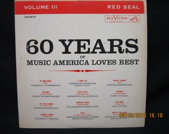 60 Years of Music America Loves Best - Vol 3 - RCA Victor Red Seal