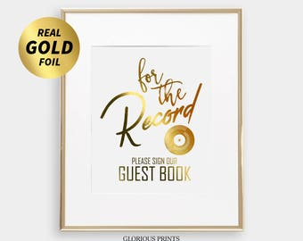 Record Guest Book Sign, Wedding Record Guestbook, Vinyl Record Wedding Guest Book Alternative, Vinyl Guestbook, Music Themed Wedding Day