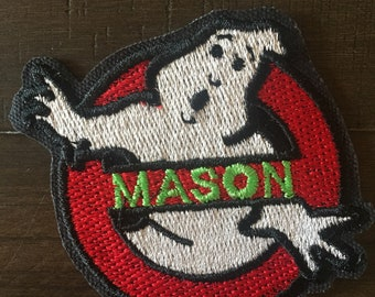 Ghostbusters Iron On Patch - Triple Special!