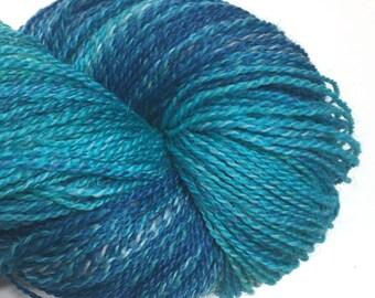 The Blue Hole - Originial Fingering  - SW Merino Nylon Hand-Dyed Yarn