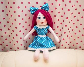 "Custom handmade doll Mirabelka 17"""