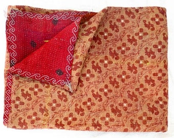 vintage kantha quilt throw, kantha quilt, indian kantha quilt, vintage quilt, quilt, wall hanging, kantha