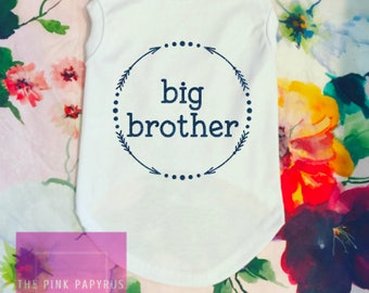 Dog Clothes, Big Brother Dog Shirt, Dog Big Brother, Dog Big Brother Baby, Big Sister Dog T-Shirt, Dog Onesie, Pregnancy Reveal