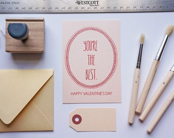 You're the Best Valentine's Card, Valentine