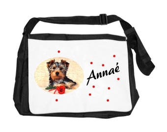 Yorkshire bag personalized with name