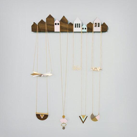 Houses Jewelry Display jewelry holder jewelry hanger