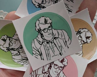 Barb Pantone Sticker Pack (5 Stickers)