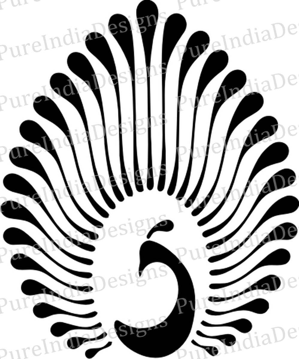 Peacock Svg Peacock Logo Peafowl Svg Eps Dxf Digital