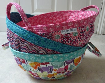 Project Baskets Sewing pattern - Printed version