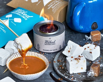 Salted Caramel Lovers Kit - Gourmet Marshmallow - Alternative Easter Gift - Foodie - Gifts For Her - Gifts For Him