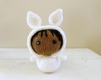 Bunny Baby Quinn, Cute stuffed animals, baby doll