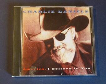 Charlie Daniels America, I Believe In You CD C2-80477 Liberty 1993