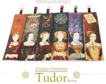 Set of  Bookmark Tudor wives (complete)