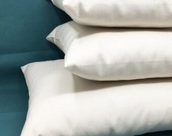 Wool throw pillows - natural - throw pillows - two sizes